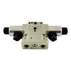 Stackable 4x3 16l/mn 1/2 CF ED FS Proportional 24v DC D15