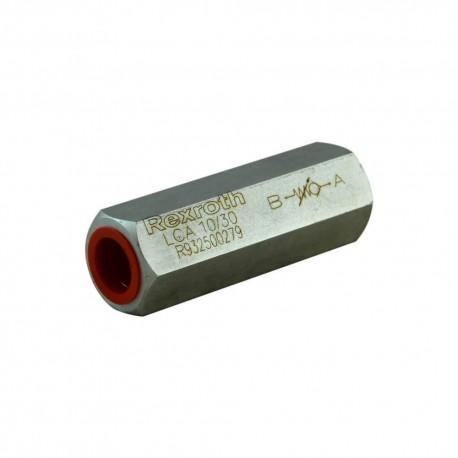 Clapet anti retour hydraulique 3/8'' réglable 5 à 30 bar