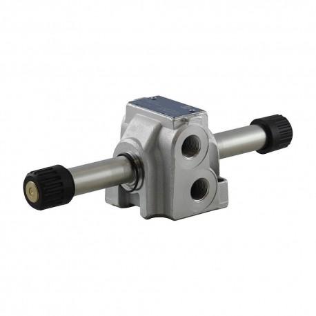 Distributeur cetop3 4x3 70l/mn monobloc CF sans bobine C45