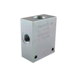 OCGF - Bloc 3/8 acier cavité 078 - 4 voies CA 10A 4N