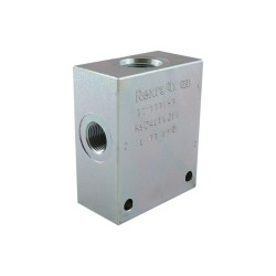 OCGF - Steel block 3/8 - cavity 078 - 4 ways CA 10A 4N