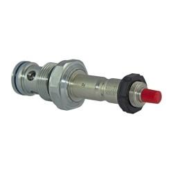 OCGF - Solenoid valve 2x2 70l/mn NF DB DP VEI 16 2T 09 NC manual override