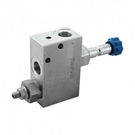 Bloc hydraulique bypass débit 20l/mn 175 à 350 bar
