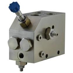 Valve marteau hydraulique pompe double en 1/2 pouce 200bar