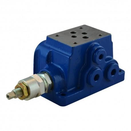 plate cetop3 1él acier 1/2 avec LP 35 à 210 bar adjusting screw