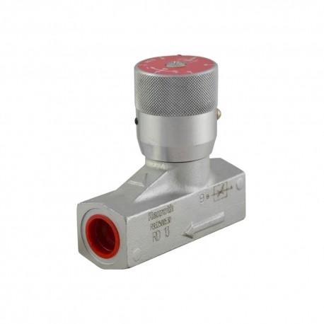 Bidirectional flow limiter 1/2'' 70l/mn 400 bar