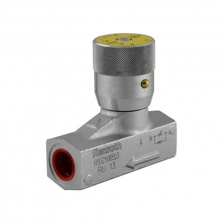 Way flow control valve 1/2'' 70l/mn 400 bar