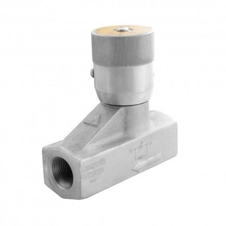 Way flow control valve 3/4'' 140l/mn 350 bar