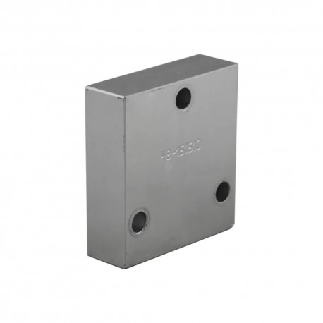 Steel outlet plate