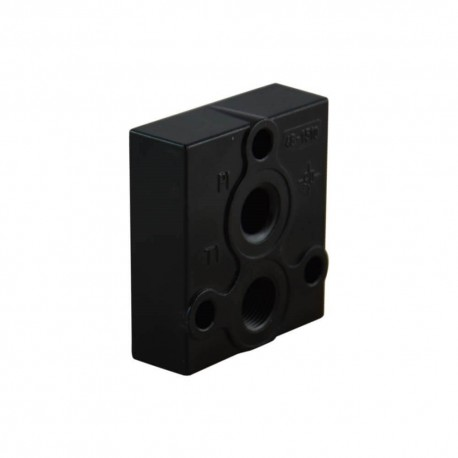 Outlet plate T 3/8