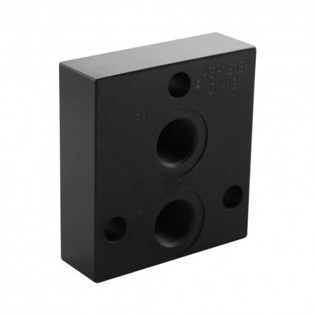 Outlet plate P & T 3/8