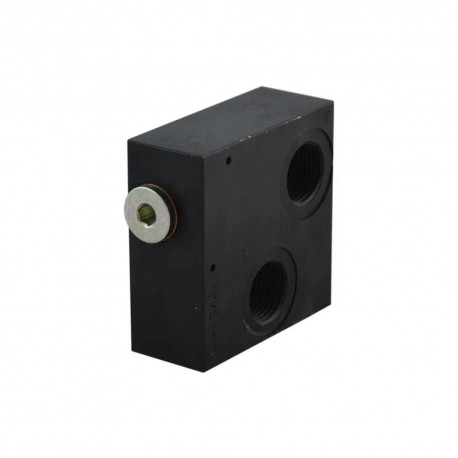 Inlet plate 1/2 Pp 1/4 frontal holes