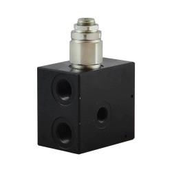 Inlet plate 3/8 Pp 1/4 LP 40/180 bar provide bypass