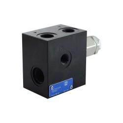Inlet plate 3/8 Pp 1/4 LP 80/250 bar provide bypass
