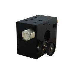 Inlet plate flow restrictor LP 40/180 bar + provide 2 bypass