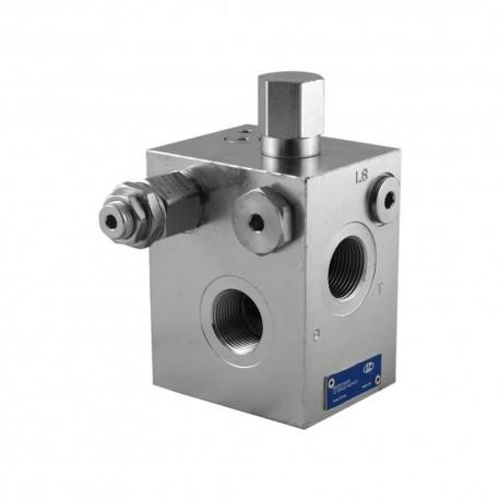 Inlet plate TE13 120L 3/4 FS 210 bar LS 14 bar FS