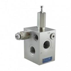 Inlet plate TE13 120L 3/4 FS 310 bar LS8-18 bar FS