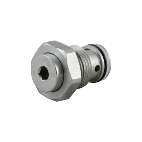 Unidirectionnal check valve cartridge VU 38 8 bar