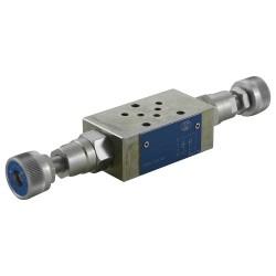 Distributeur Cetop2 mod débit AB VF1/AB volant retour