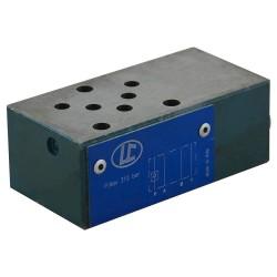Distributeur hydraulique cetop2 mod CAR P LC04M VR/P